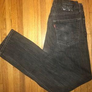 Levi 513 washed out black/ dark grey 30x32